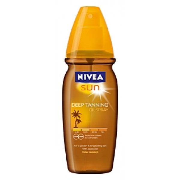 nivea deep tanning oil