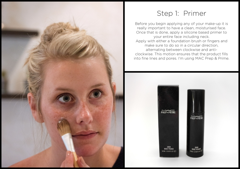 natural makeup step1