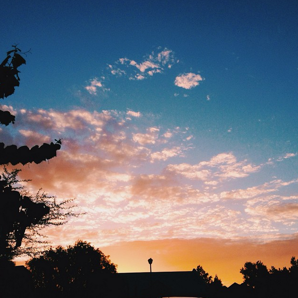 Tulbagh sunset