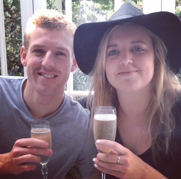 Champagne breakfast!